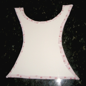 Back of Bodice