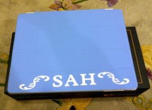 iPad Cover with Monogram