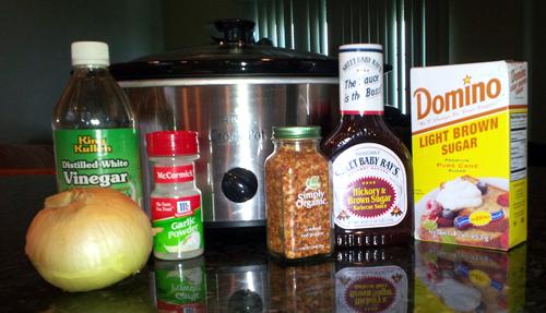 BBQ Chicken Ingredients