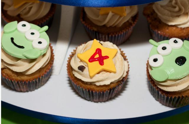 Toy Story Star Cupcake