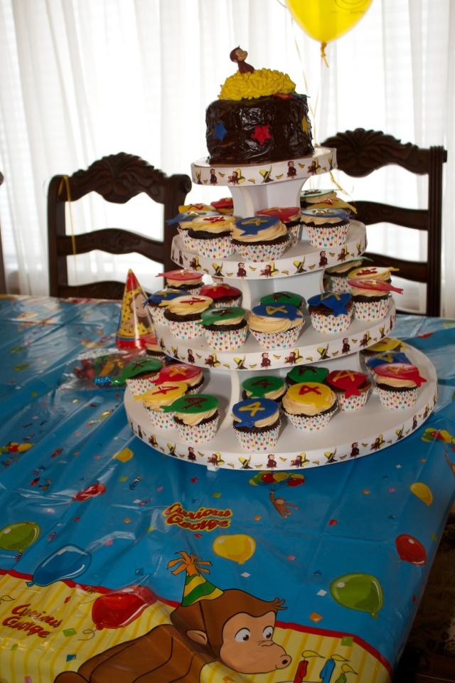 Curious George Cupcake Tree
