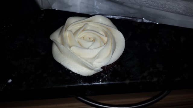 Buttercream Rose Cupcake